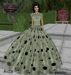 1f688138acb8e Gorgeous elegant ballgown in moss green for that special evening. For sale  at SL…