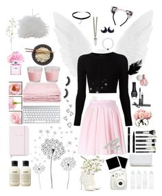 """""""Like thisssss for a like backkkk"""" by fangirl9 ❤ liked on Polyvore featuring MAISON MICHEL PARIS, abcDNA, jcp, Chanel, Kate Spade, Dolce&Gabbana, philosophy, OKA, Brinley Co and Topshop"""