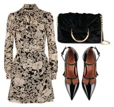 """""""Untitled #3488"""" by evalentina92 ❤ liked on Polyvore featuring Yves Saint Laurent, RED Valentino and STELLA McCARTNEY"""