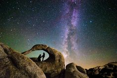 The Astrophotography King  Canon EOS 6D Milky Way from Alabama Hills Mobius Arch