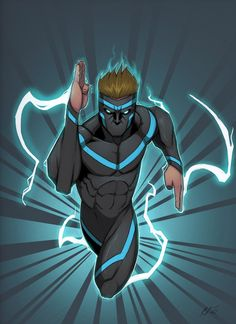another brother from my oc comic name is jet has superspeed and lighting style powers  Fantasy Character Design, Character Creation, Character Concept, Character Inspiration, Black Anime Characters, Superhero Characters, Fantasy Characters, Costume Super Hero, Poses Dynamiques