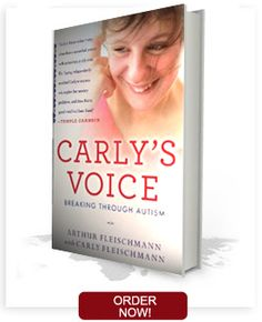 In Carly's Voice, her father, A rthur F leischmann, blends Carly's own words w ith h is story of getting to know his remarkable daughter. One of the first books to explore firsthand the challenges of living with autism, it brings readers inside a once-secret world and in the company of an inspiring young woman who has found her voice and her mission.
