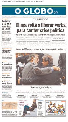CAPAS de Jornais do BRASIL