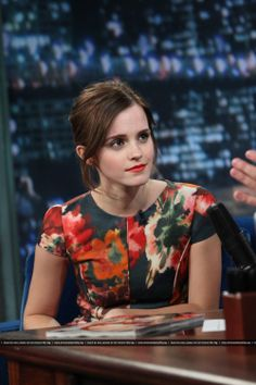 Emma Watson - Listening intently