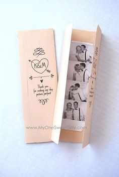 Photo booth Photo-Strip Picture Holders Party Favor Spring or Summer Wedding theme on Etsy, $1.76 AUD #weddinginvitation