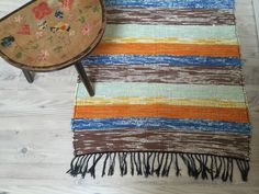 A personal favorite from my Etsy shop https://www.etsy.com/se-en/listing/476993553/vintage-swedish-hand-woven-rag-rug