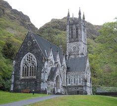 Kylemore Abbey Church...Connemara, County Galway, Ireland.
