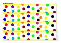 Dotty display border (SB7403) - SparkleBox