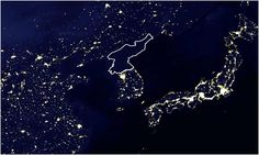 A New, Highly Detailed Image of North Korea's (Lack of) Electrical Infrastructure - John Metcalfe - The Atlantic Cities