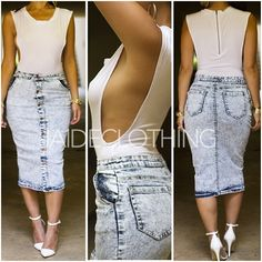I would like to wear this, but they way my boobs are set up. Chill Outfits, Stylish Outfits, Cute Outfits, Fashion Outfits, Denim Outfits, Womens Fashion, Fashion Trends, Pretty Girl Rock, Sophisticated Style