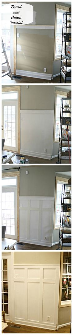 A complete tutorial on how to install Board and Batten