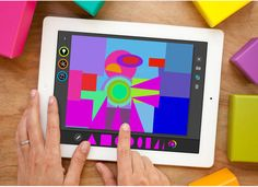 Art Lab App - The Department of Advertising and Graphic Design.  The user interacts by touching and moving objects to create their our art work. The value is enjoyment in creating something for themselves,