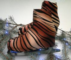 Tiger Skate Boot Covers / Ice Skating / Figure Skating / Roller Skating