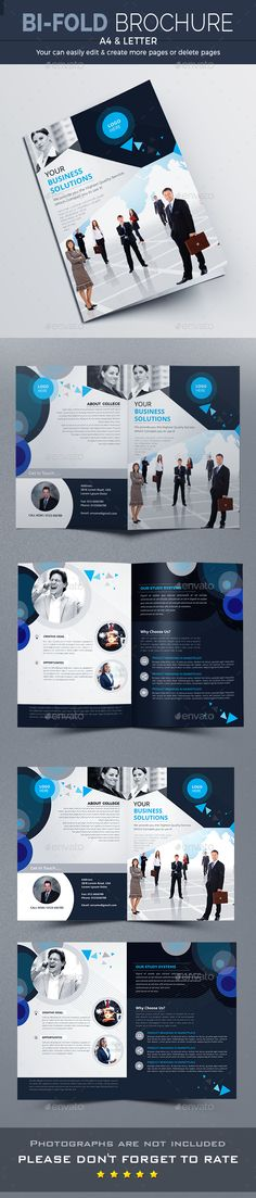 Bi-Fold Brochure Template InDesign INDD