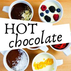 The perfect hot chocolate - Food On Mars Hot Chocolate Recipes, Vegetarian Chocolate, Healthy Fats, Healthy Choices, Sweets Recipes, Desserts, Processed Sugar, Group Meals, Herbalism