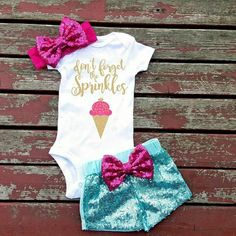 Step aside Anna, there's a new princess in town (Clothes - Baby by GLITTERandGLAMshop Baby Kind, My Baby Girl, Baby Girls, Girl Toddler, Baby Girl Fashion, Kids Fashion, Only Shorts, Everything Baby, Cute Baby Clothes