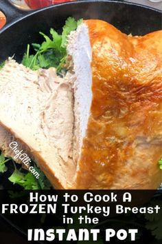 Are you looking for a way to streamline Thanksgiving dinner? Here are the easy instructions for How to Make a Frozen Turkey Breast in an Instant Pot. Frozen Turkey Breast Recipe, Instant Pot Turkey Breast Recipe, Turkey Tenderloin Recipes, Turkey Recipes, Cooking A Frozen Turkey, Making Turkey Gravy, Instant Pot Pressure Cooker, Instant Cooker, Instant Pot Dinner Recipes