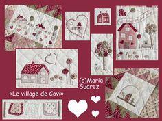 nouveaux modèles de patchwork - Le blog de Marie Suarez