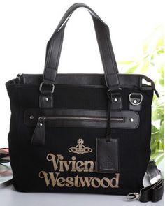 Vivienne Westwood bags canvas black  £150.50
