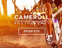 Cameroll - #Photography #Template by imithemes