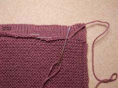 Explicación pantalón corto sencillo para bebé – El castillo de lana Darning, Knitting For Kids, Free Pattern, Knitting Patterns, Reusable Tote Bags, It Is Finished, Crafts, Lana, Fashion