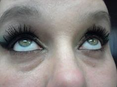 this is me with both eyes  done with my 3D fibers  If interested contact me and get some for your self  www.youniqueproducts.com/LisaDrum