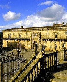 I stayed here on a trip in HS - Gorgeous & full of history!  I'd love to go back! Hostal dos Reis Católicos Hotel - Santiago de Compostela