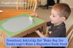 magnetic duck pond or toy