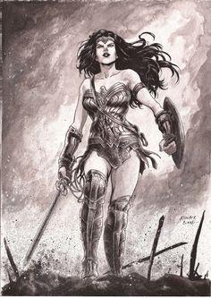 Wonder Woman by kewber.deviantart.com on @DeviantArt