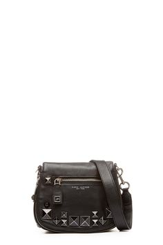 40ffd044eaa9 The Marc Jacobs Recruit Chipped Studs Small Saddle Bag is a  70s-inspired  saddle