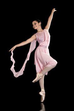 Lyrical Dress, Dance Costumes, Waltz, Light Pink