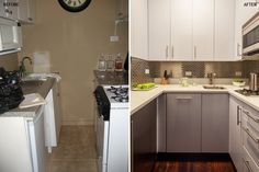Before and After: Renovating a 35-Square-Foot Kitchen