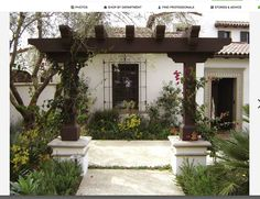 Spanish, Ranch style, front patio, curb appeal