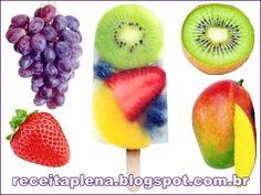 Como Fazer Picolés de Frutas Coloridos, atraentes, saudáveis e com poucas calorias, os Picolés de Frutas são uma boa pedida, para quem quer emagrecer e também para todos aqueles que gostam de sorvetes e frutas frescas, assim, saiba como fazer estas gostosuras! http://receitaplena.blogspot.com.br/2016/11/como-fazer-picoles-de-frutas.html #ComoFazerPicolésdeFrutas #Picolés #Sorvetes #Emagrecer #Frutose