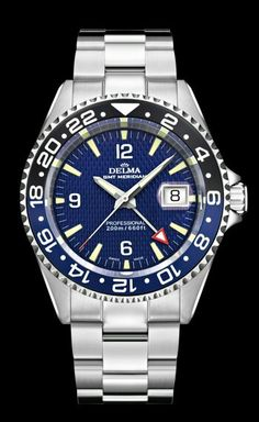 Delma Santiago gmt.  A Swiss company producing high quality watches   http://www.delma.ch/delm_eng/gents-watches/gents-sports-collection/santiago-gmt-meridian