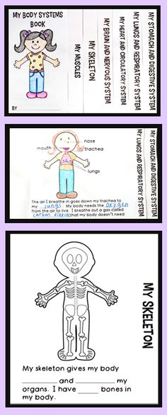 Human Body Systems for Kids | Human Body Systems Activities