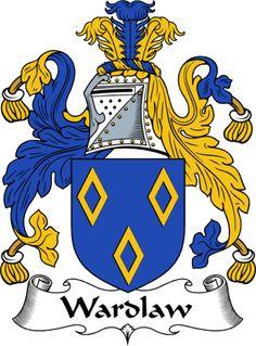 Wardlaw Family Crest - Heraldic Jewelry