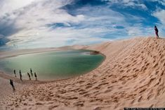 Lençóis Maranhenses Is A Magical Desert-Like Wonderland.  Complete Holiday Solution... http://www.cleotrip.com/
