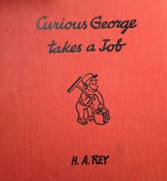 Curious George Takes a Job (1947) Under the cover