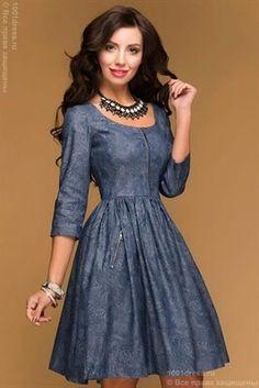 Women S Plus Size Hawaiian Dresses Info: 1840223988 Estilo Jeans, Gothic Outfits, Rock, Chambray, Jeans Style, Plus Size Women, Glamour, Summer Dresses, My Style