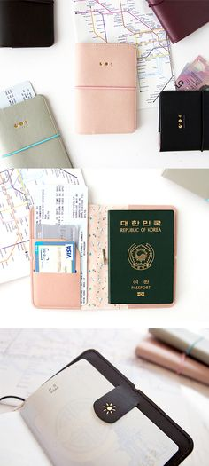 Journey of Dreams Passport Case