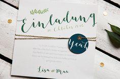 Diese Bestandteile gehören zu Eurer Hochzeitspapeterie - Hochzeitsblog Fräulein K. Sagt Ja