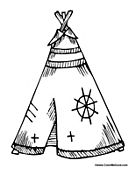 native american coloring pages printable | Native american color pages About PAT Cumbria