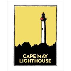 Cape May Lighthouse Graphic - Art/Photography