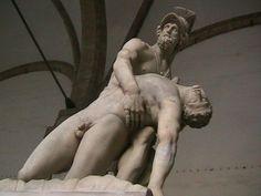 Menelao y Patroclo.