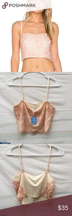 5add106b3f05 FP Intimately Ollie Brami Longline Bralette Lace brami NWT Size xs s Free  People Intimates   Sleepwear