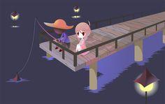 Yume Nikki - Docks by Thayora.deviantart.com on @DeviantArt