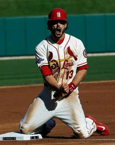 Game 2. Cardinals won and lead series 2-0.  #NLCS