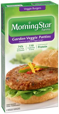 best morningstar farms garden veggie patties veggie burgers recipe on pinterest