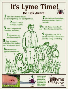 You Can Do It! Put Up Posters for Lyme Disease Awareness Month | LymeDisease.org